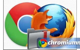 Импорт закладок из Google Chrome в Mozilla Firefox