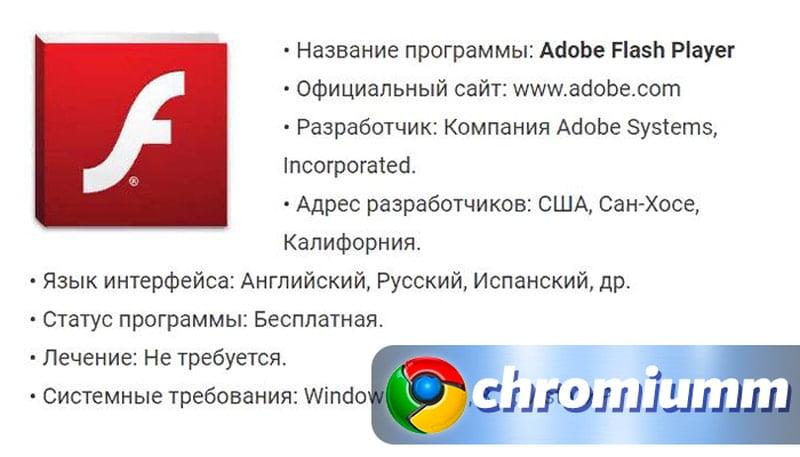как установить adobe flash player в google chrome