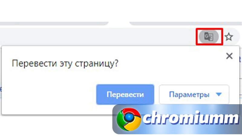 гугл хром не удалось перевести страницу