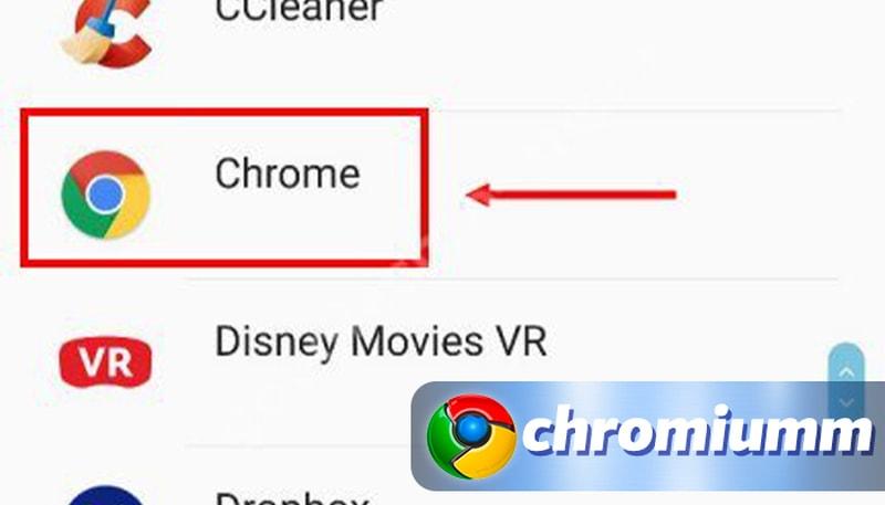 как удалить с андроида гугл хром