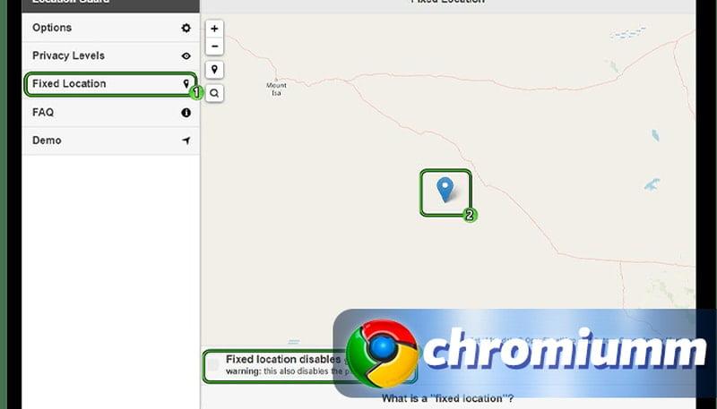как поменять геолокацию в гугл хром