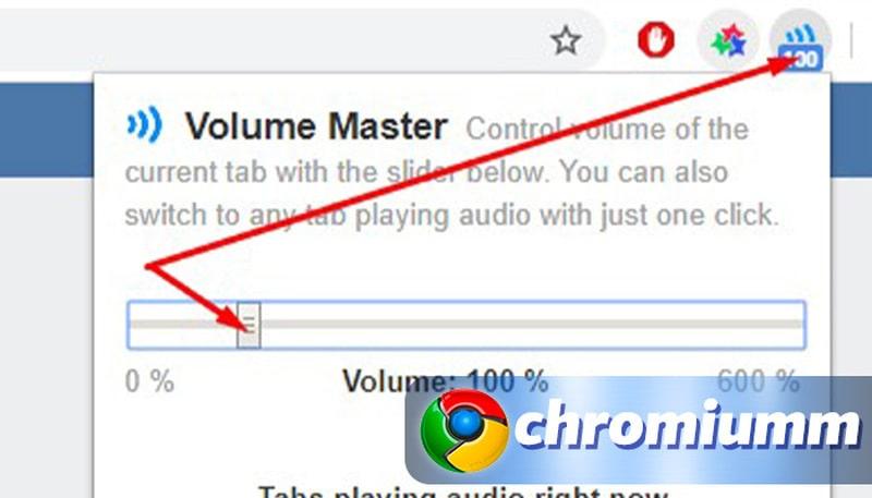 увеличить громкость google chrome