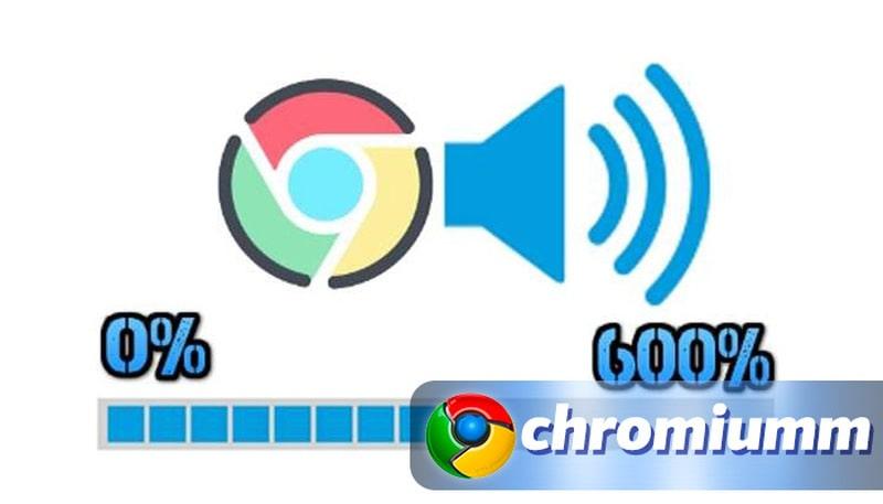 как увеличить громкость в гугл хром