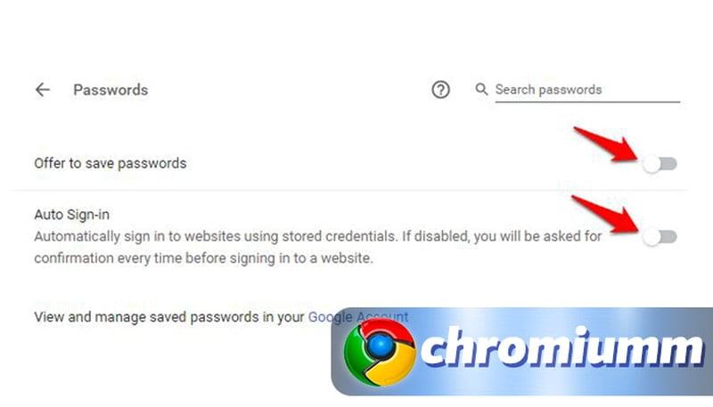 Как удалить все сохраненные пароли в Гугл Хроме