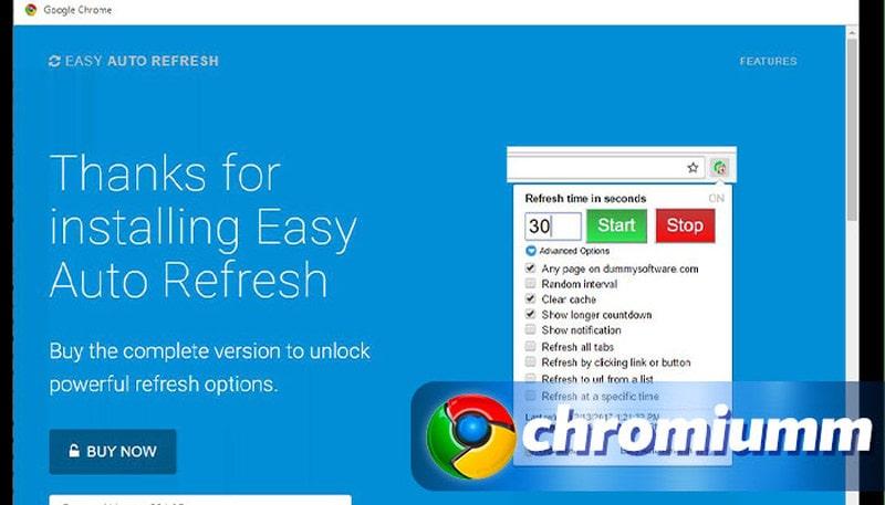 как настроить автообновление страницы в google chrome