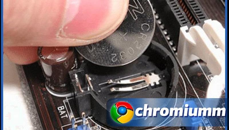 Способы устранения ошибки с часами в Chrome
